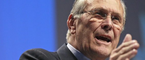 DONALD RUMSFELD OBAMA NOBEL