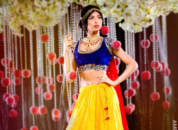 9 Photos Of Disney Princesses Transformed Into Indian Brides