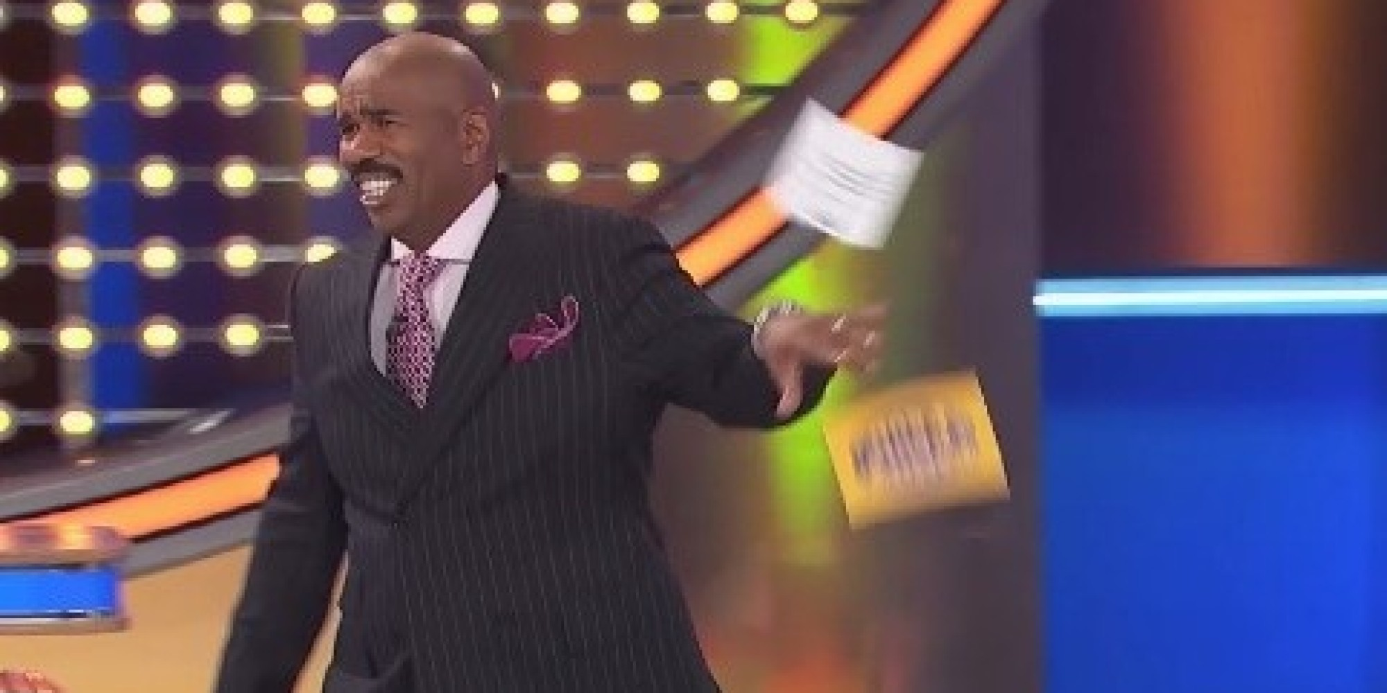 Steve Harvey Loses It On 'Family Feud' Over The 'Best Answer' He's ...