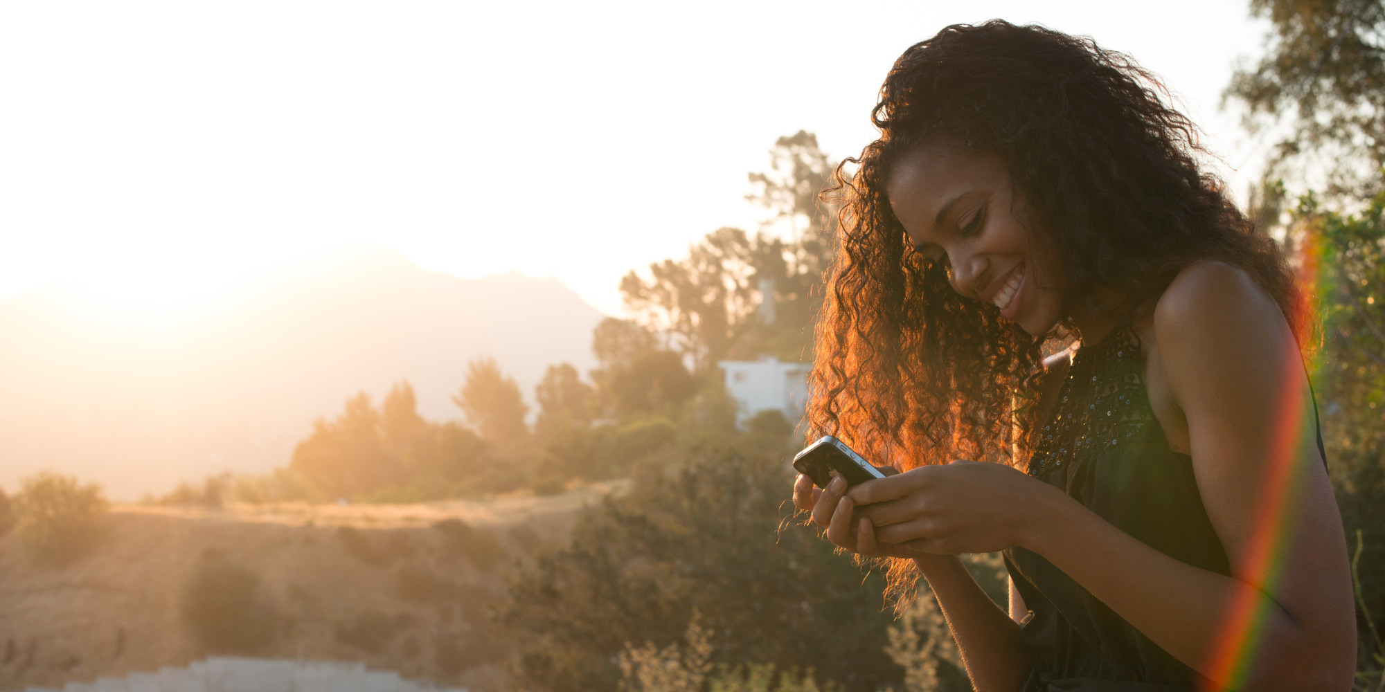 Image result for black woman on phone
