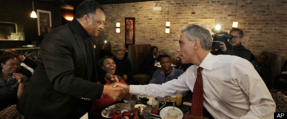 r RAHM JESSE JACKSON large570 chicago election results 2011 |Update  9:10 pm ET