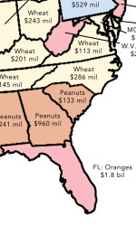 2 Maps That Reveal How US Agriculture Works