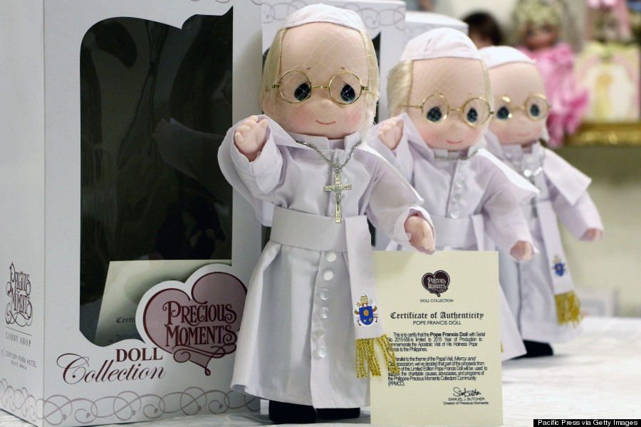 pope philippines doll