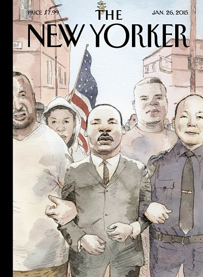 new yorker mlk cover