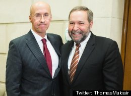Ex-Budget Watchdog Says He's Indebted To Mulcair