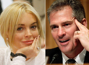 Scott Brown Lindsay Lohan