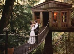 This Treehouse Wedding Is What Childhood Dreams Are Made Of
