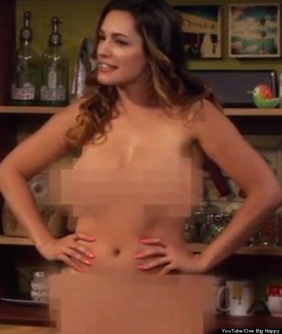 sitcom star Nude