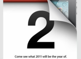 Apple Ipad 2 Event Invitation