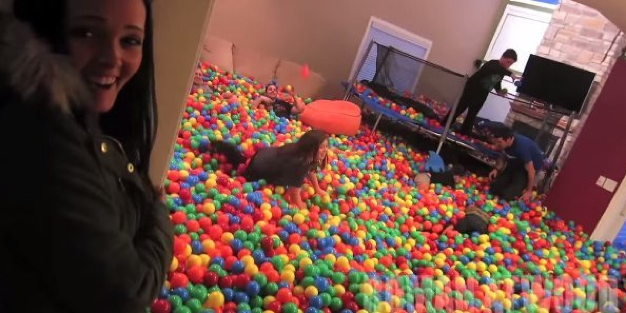 Ball Pit Living Room Prank May Be The Best Idea In History ...