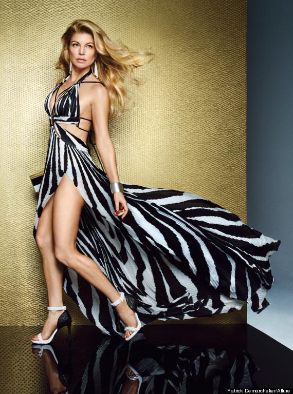 Fergie Says Josh Duhamel Is 'Curious' About Her Bikini ...