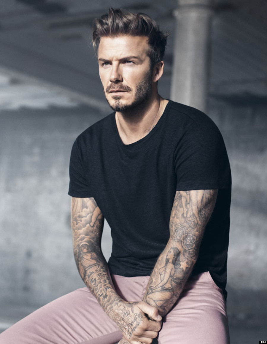 david beckham looks really hot in his new h amp m ads