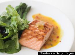 Honey Glazed Salmon With Lemon Butter Sauce