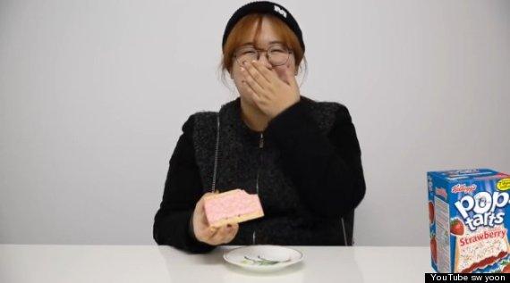 pop tart reaction