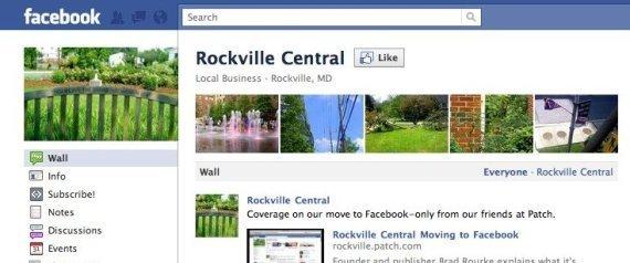 ROCKVILLE CENTRAL FACEBOOK