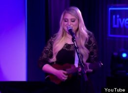Meghan Trainor Puts Playful Twist On 5SOS Song With Her Ukulele