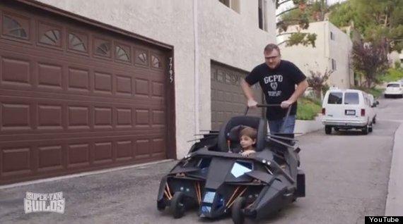batman stroller