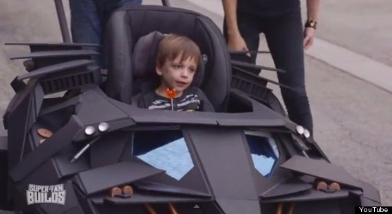 batman stroller collin