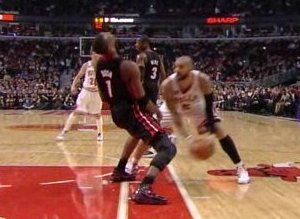 Chris Bosh Flop Video