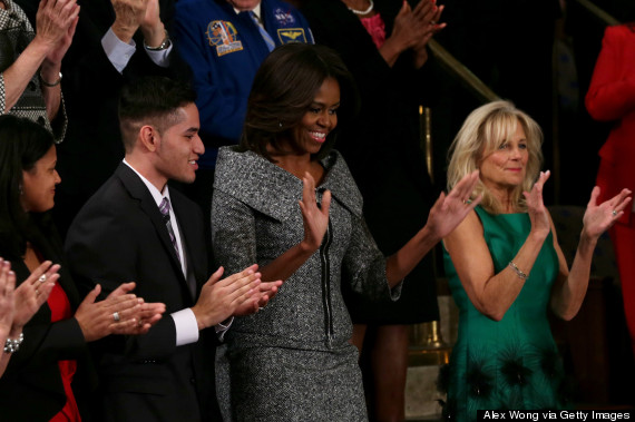 michelle obama state of the union dress 2015