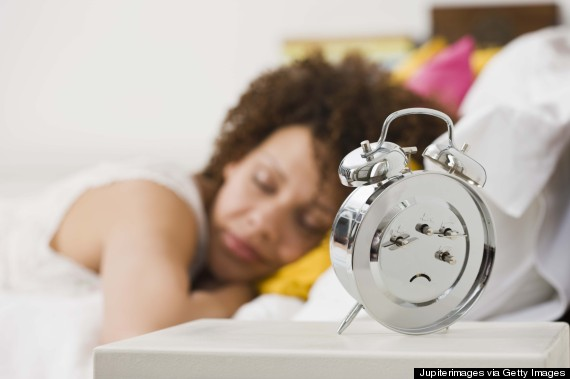 sleep black woman