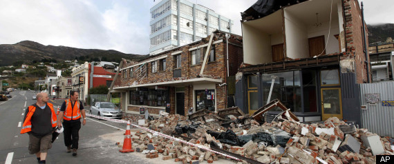 CHRISTCHURCH EARTQUAKE