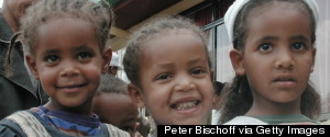 ETHIOPIA CHILDREN SMILING