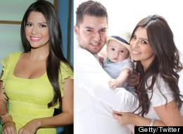 El ex de Ana Patricia lleva a su esposa a 'Nuestra Belleza Latina'
