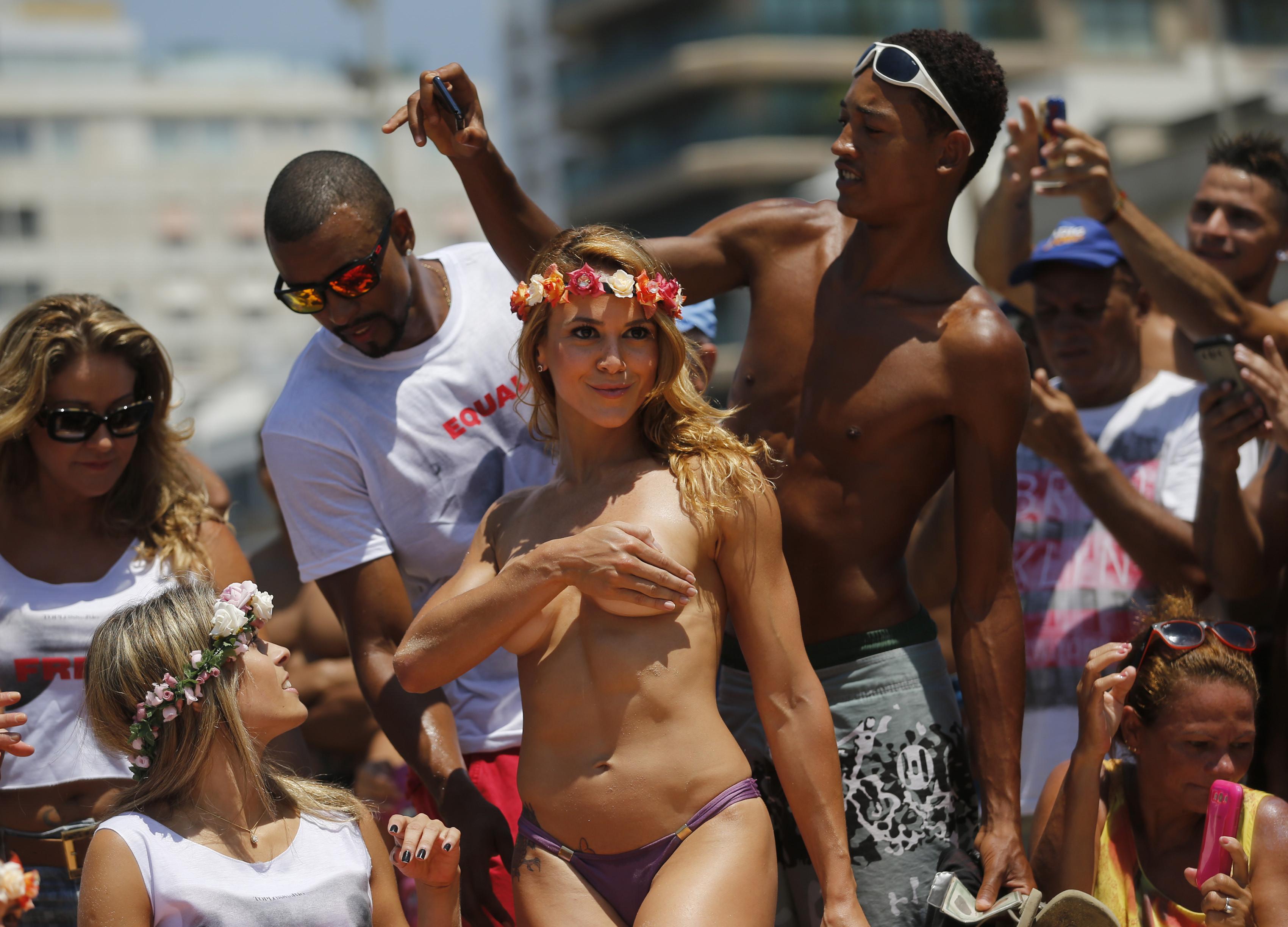 brazil topless