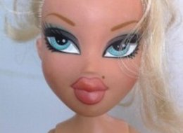 Here's What Bratz Dolls Look Like Without Their Makeup