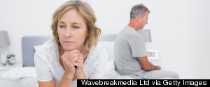 MATURE COUPLE BED ANGRY