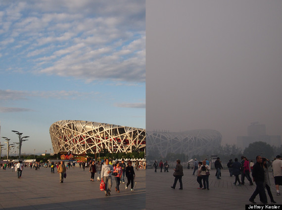 Chinese director 39 s film for greenpeace shows how smog for The nest beijing
