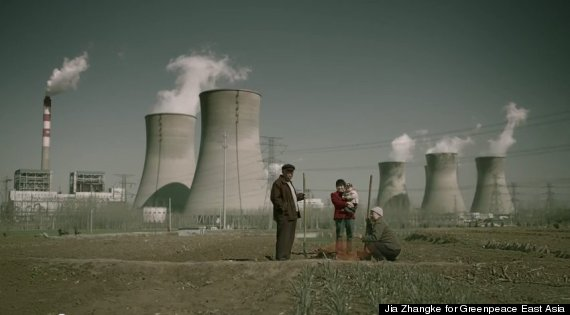 greenpeace smog family