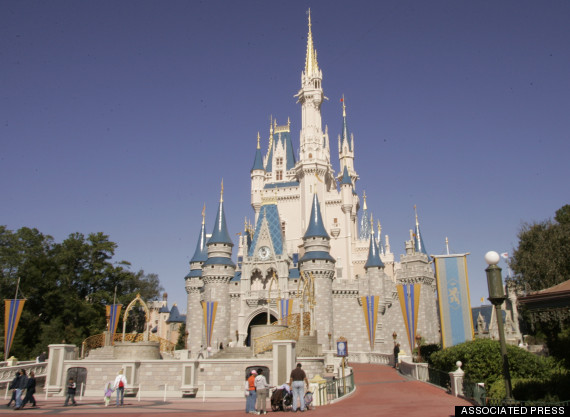 disney world castle