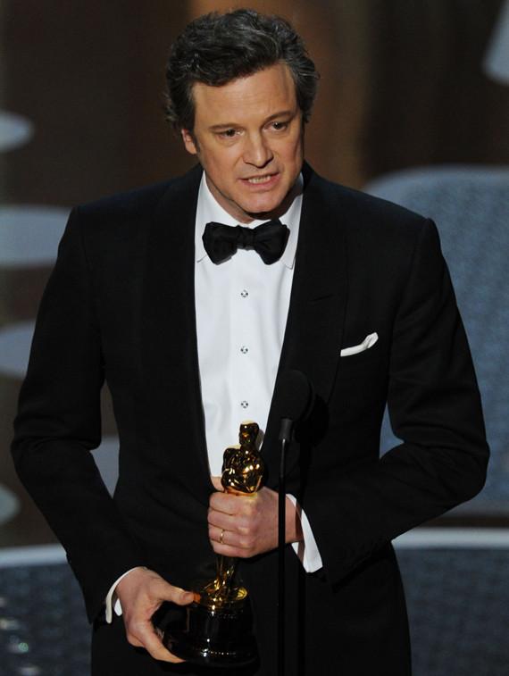 Colin Firth Oscars 2011 Best Actor Winner Huffpost