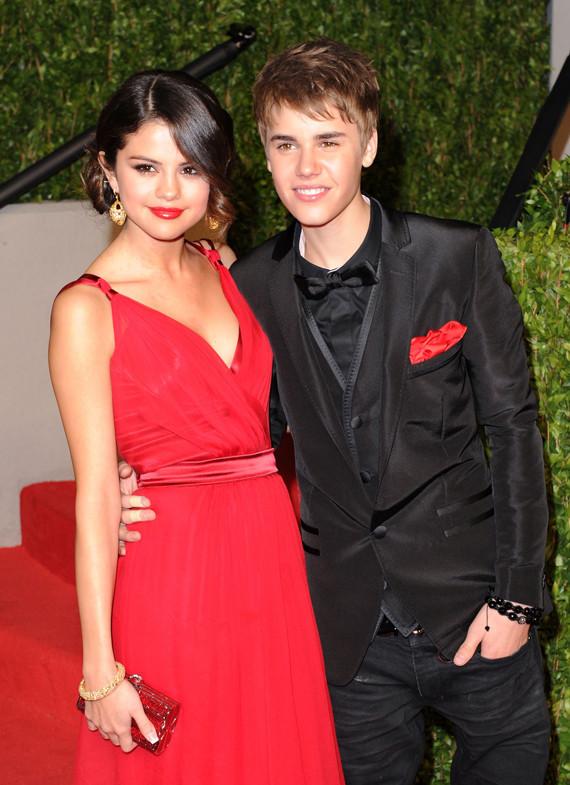 selena gomez vanity fair party. Justin Bieber, Selena Gomez