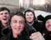 Sylvester Stallone Takes A Selfie With Tourists On Philadelphia's 'Rocky' Steps