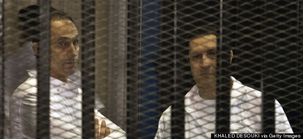 Egypt Court Orders Release Of Mubarak's Sons