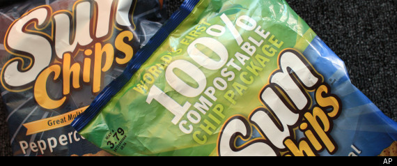 Sunchips Noisy Bag
