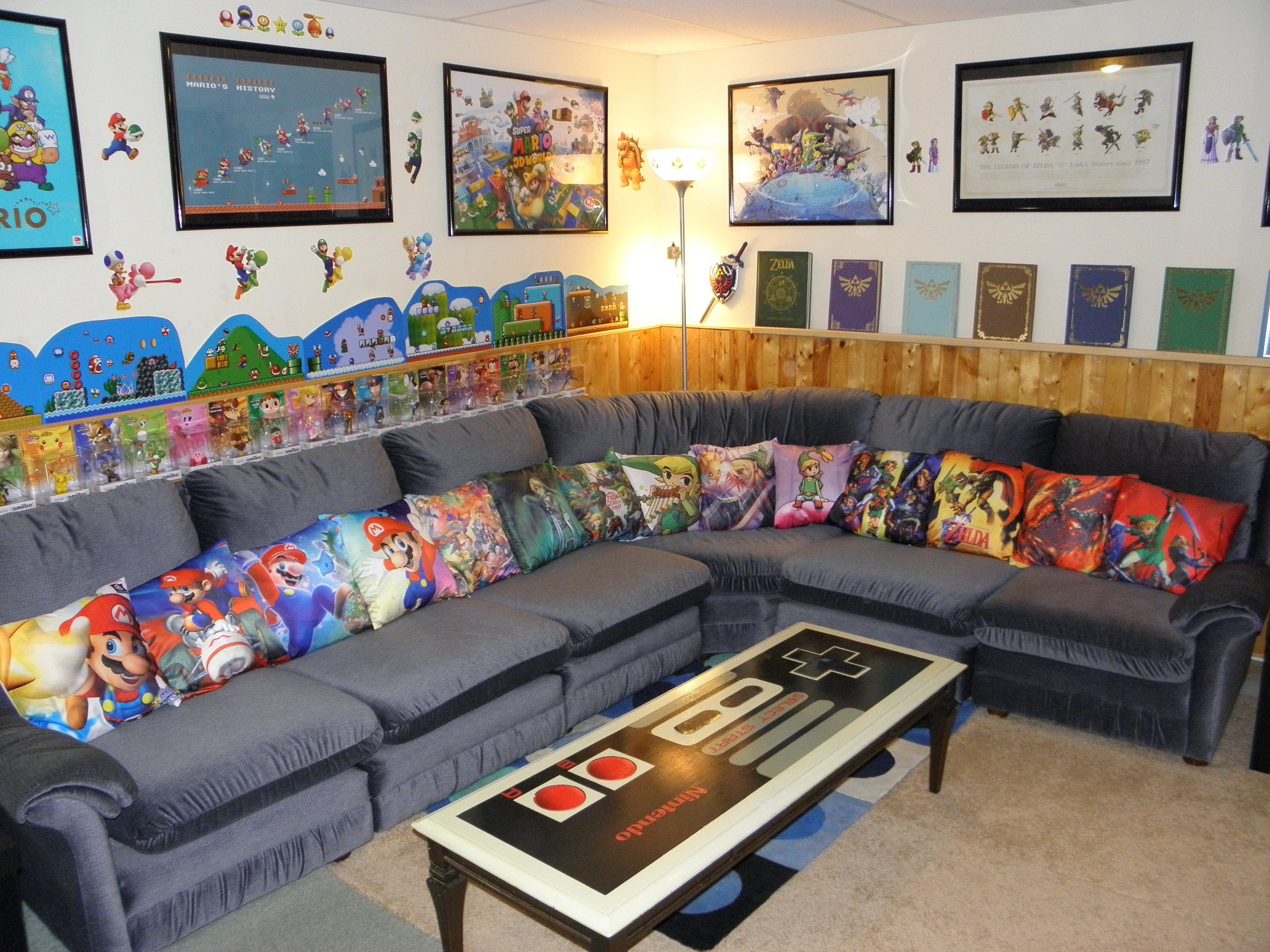 nintendo rooms