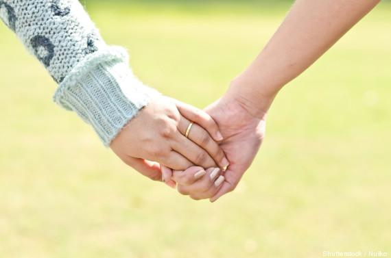 lesbian hand