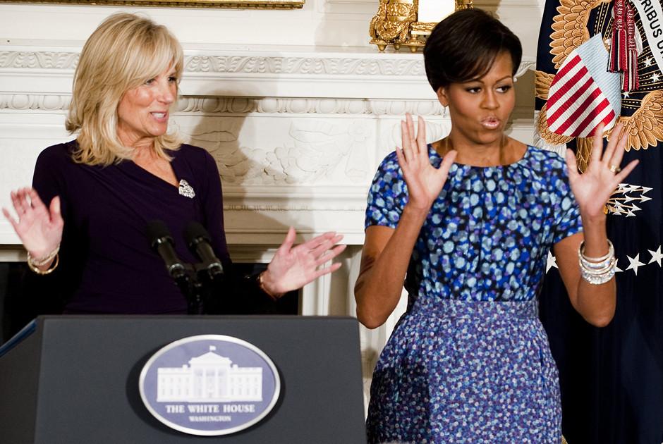 obama jill biden Michelle