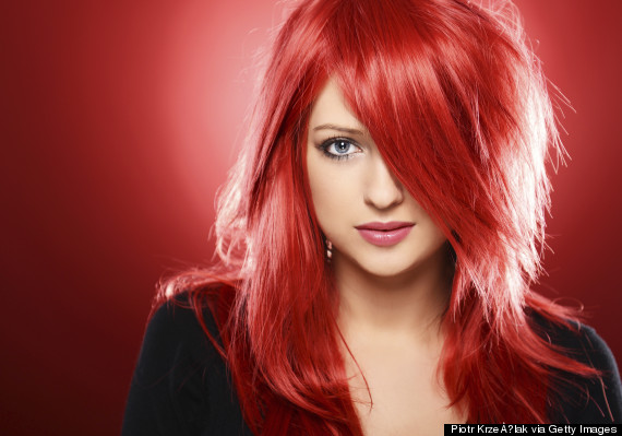 Baño De Color Rojo Pelo:Colores de cabello para el 2015