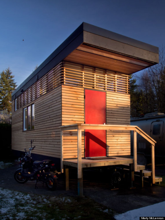 Tiny home in north vancouver may be small but it 39 s also for Vancouver bc houses