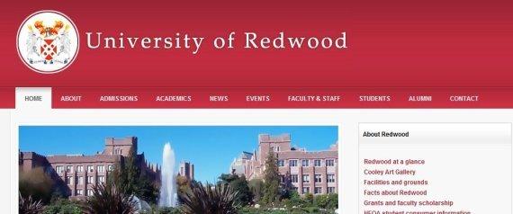REDWOOD UNIVERSITY