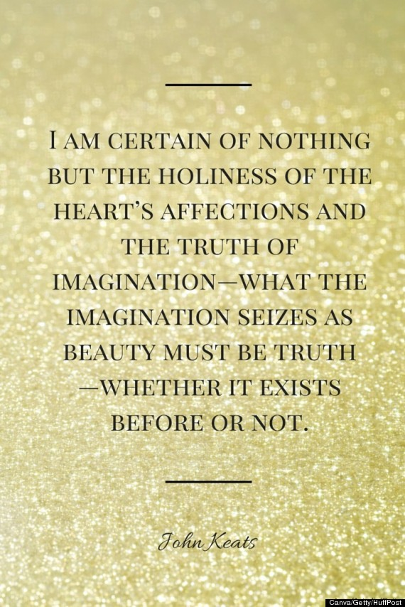 8 Beautiful Quotes From John Keats' Letters   HuffPost