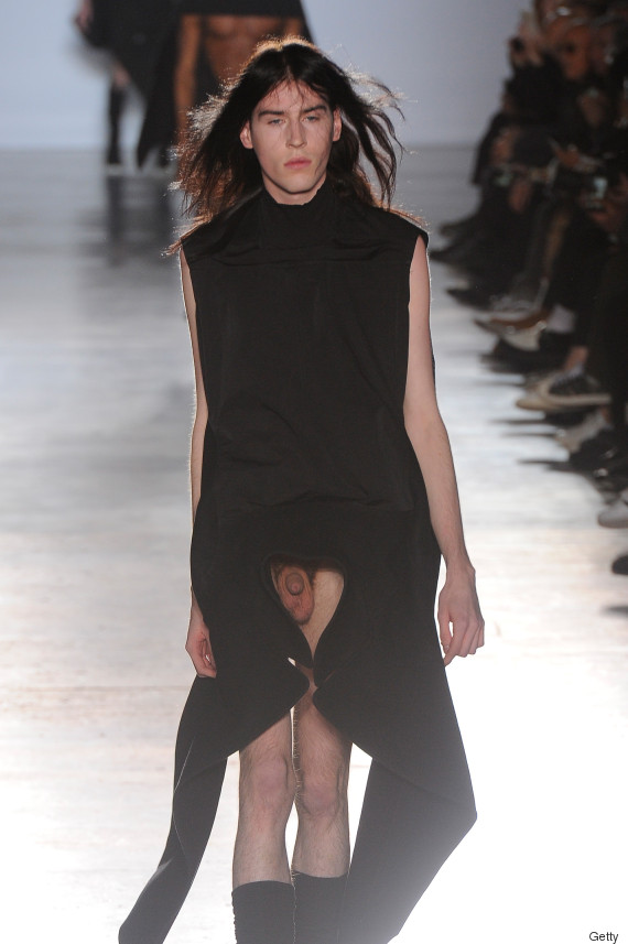5 places it 39 s ok to wear rick owens 39 new penis cloaks for Rick owens milan