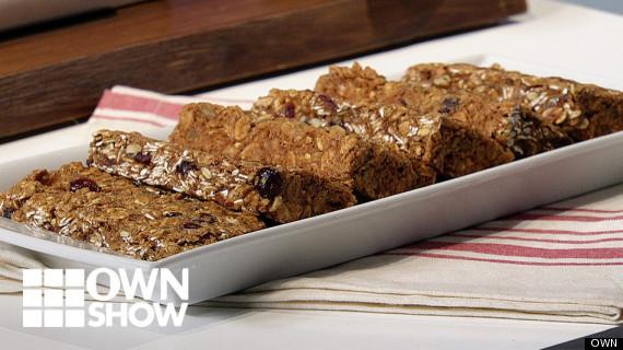 own ownshow vegan chewy oat breakfast bars