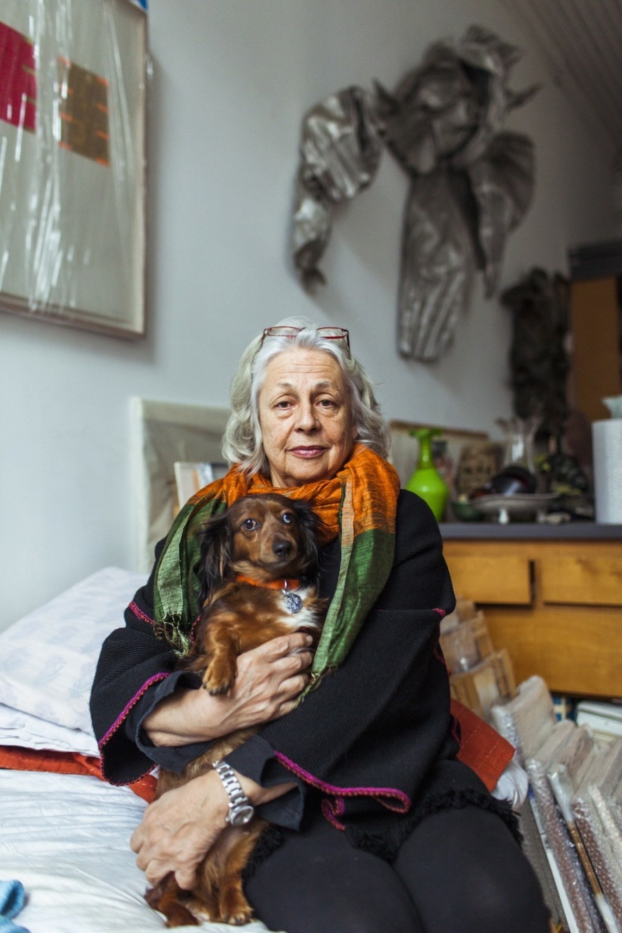 Interview With :   Lynda Benglis, America's most significant living artists