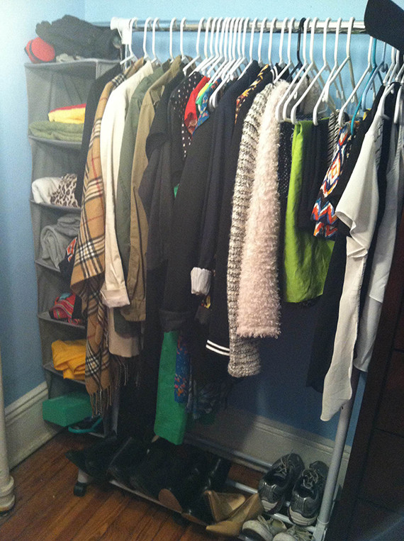 I Decluttered My Closet With The KonMari Method And Heres What